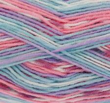 King Cole Cherish & Cherished DK Double Knit Wool 100 Acrylic Self Patterning Neopolitan 1872