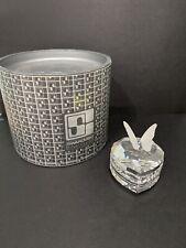 Swarovski Crystal BUTTERFLY HEART TREASURE BOX 7465052100 MIB