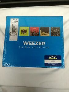 Weezer Album Collection Factory Sealed 5 CD Set 2000A