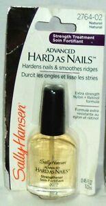 1 Sally Hansen Advanced Hard As Nails Strength Treatment NATURAL #2764-02 NIP