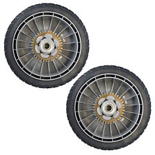 Lawn Mower Rear Drive Wheels Assembly 8-inch Set of 2 Honda Part 42710-VE2-M02ZE