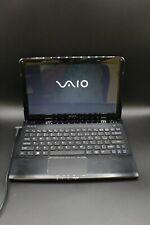 Sony VAIO SVE11125CXB 11.6in. (750GB, 1.7GHz, 8GB RAM) Notebook/Laptop -...