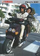 Scooter Brochure - Yamaha - Neo's 100 - c2000 (Dc422)