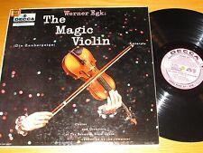 """PROMO MONO CLASSICAL LP - BAVARIAN STATE OPERA - DECCA 9825 - """"THE MAGIC VIOLIN"""""""