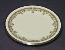 "DISCONTINUED LENOX CHINA LACE POINT PATTERN SALAD PLATE  8 1/8"" DIAMETER NEW"