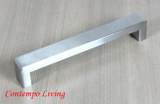 "8"" Stainless Steel Square Bold Style Kitchen Cabinet Pull Handle"