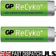 2 AA GP ReCyKo Rechargeable NI-MH Phone Batteries