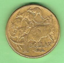 1984 CIRCULATED AUSTRALIAN $1 DOLLAR COIN