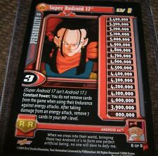 Dragonball Z / GT  Card: Super Android 17