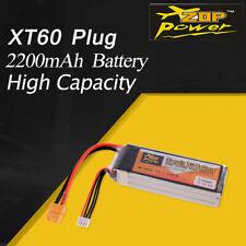 ZOP Power 11.1V 2200mAh 45C 3S Lipo Battery XT60 Plug For RC Racing Drone Car