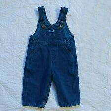 Baby Guess Vintage 90s Georges Marciano USA Dark Denim Overalls Size 6 Months