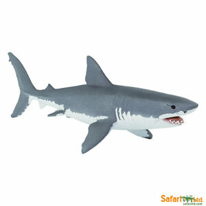 Safari ltd 200729 Great White Shark 6 5/16in Series Water Creature