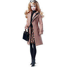Barbie Fashion Model Collection Camel Coat Doll