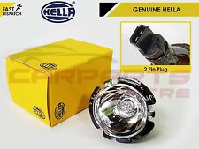 Per BMW serie 5 E60 E61 07-ORIGINALE HELLA H10W Lampadina Alogena Angel eyes e supporto