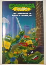 1991 Cowabunga Comics TMNT Benefit Book Ninja Turtle CGC Ready! Rare Htf Book!