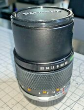 Olympus 135mm f3.5 OM-System Telephoto Lens, with pouch case, pristine
