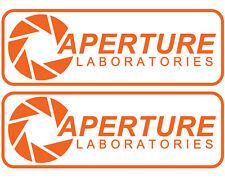 Retro Computing Aperture Laboratories Half Life 2x Vinyl Decal Sticker Car Van