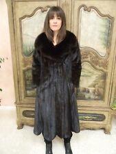 Mink Fur  Coat w/sable collar Blackglama Label