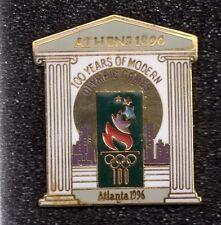 1996 Atlanta 1896 Athens Centennial Olympic Pin Greek Columns Large