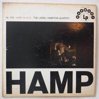 LIONEL HAMPTON – HAMP IN HI FI – 12 INCH VINYL LP – HARMONY MONO HL 7115