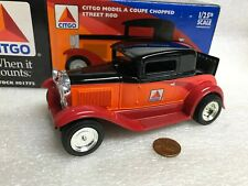 1:25 Ford Model A Coupe 1927 CITGO Die-Cast Bank Street Rod Muscle Car PROMO '98