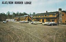 "*Canada Postcard-""Alas/Kon Border Lodge"" /Beaver Creek/ (U1-CAN9)"