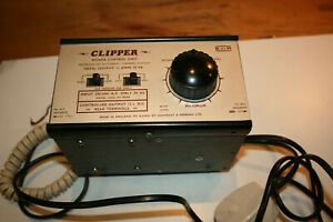 H&M (Hammant & Morgan) Clipper Power Control Unit for Model Railway, Working