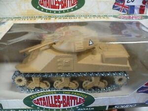 Solido Famous Battles General Grant Tank #6211 series 2 WWII diecast vehicle