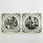 ~ Mosa Holland Ceramic Tiles ~ De Brouwer ~ De Backer ~ Dutch ~ 15 cm x 15 cm ~