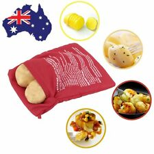 Microwave Cooker Bag Baked Potato Cooking Washable Baked Cooking Roast Bag MA