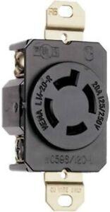 LEGRAND 20-Amp Turnlok Industrial Locking Outlet - L1420RCCV3 - NEMA L14-20R