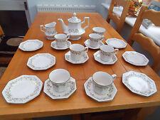 COMPLETE AFTERNOON TEA SET TEAPOT PLATES ETC ETERNAL BEAU JOHNSON BROTHERS