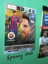 Panini Adrenalyn FIFA 365 NORDIC Edition GAME CHANGER Messi Barcelona 2017