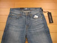 """NWT Men's 7 For All Mankind """"STANDARD"""" Straight Leg JEANS ( Retail $228.00)"""