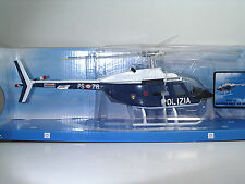 New Ray 25743 AGUSTA BELL AB 206 POLIZIA - METAL Scala 1:34
