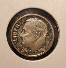 USA 1962 Roosevelt Dime - Silver Proof