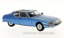 wonderful modelcar CITROEN SM Espace by Heuliez 1971 - bluemetallic - 1/43 - lim