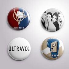 4 Ultravox - Pinbacks Badge Button Pin 25mm 1''