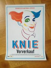 affiche magasin rare cirque KNIE circus circo zirkus poster