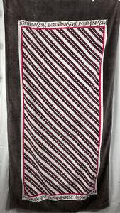 Vintage 1980 Yves Saint Laurent Beach Towel 65x34