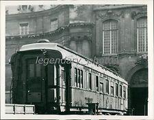1940 World War II Terms Shared in this Railroad Car Original News Service Photo