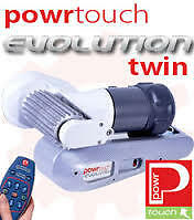 POWRTOUCH EVOLUTION TWIN AXLE MANUAL CARAVAN MOVER + Remote Control-supply only