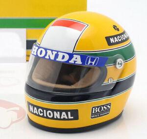 Ayrton Senna McLaren Honda 1988 Helmet 1/2 Formula1 F1 F/S