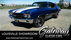 1970 Chevrolet Chevelle SS Blue 1970 Chevrolet Chevelle Coupe 454 CID V8 4 Speed Manual Available Now!