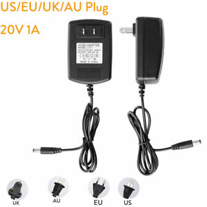 AC110 220V Power Supply Adapter Transformer LED Strip 1A DC 20V EU/US/UK/AU Plug