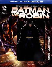 Batman vs. Robin (BD+DVD+Digital HD Deluxe Limited Edition Gift set) W/Figurine