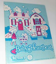 Vintage 1977 Baby Heartbeat Doll Kenner Booklet Only for Care Set