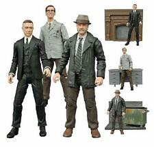 """Gotham """"Before the Legend"""" Select DELUXE Alfred Pennyworth Action Figure W/ BASE"""