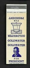 Matchbook Cover Goldwater For President  *3336
