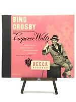 Bing Crosby - The Emperor Waltz Record 2 Records DECCA Album No. A620 Vintage EX